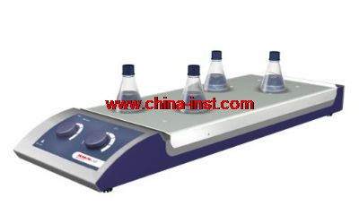 10通道型磁力搅拌器(加热&不加热)(10-Channel Analog Magnetic Stirrer with and Without heat)